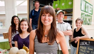 Amelia Pape and the MyStreetGrocery crew