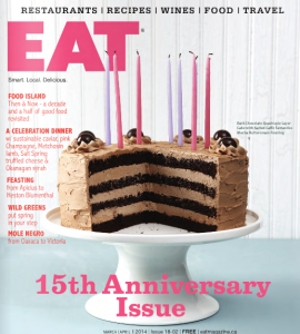 Sugarboy Cake featured on EAT cover