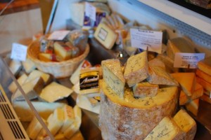Cheese counter at Cure