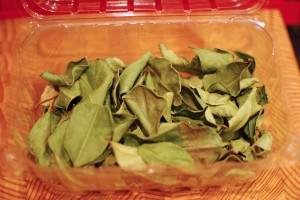 Frozen 'fresh' Kaffir lime leaves